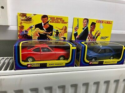 Corgi Custom Made Display 007 Boxes With Die Cast Models Inside • 35£