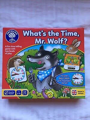 Orchard Toys What'S The Time, Mr. Wolf?  Number/Counting Toys • 3.50£