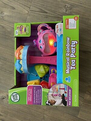 Leapfrog Musical Rainbow Tea Party - Brand New • 8.50£