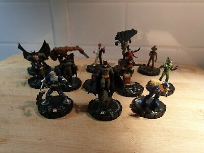 Dc Comics Heroclix 13 X Assorted Batman Figures - Bundle- Wizkidz - • 0.99£