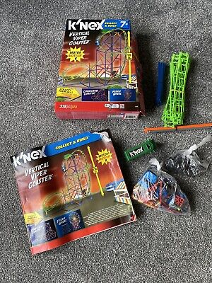 Knex Vertical Viper Coaster, Complete Set With Instructions And All Parts • 10£