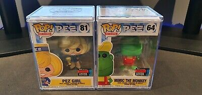 Pez Girl And Pez Mimic The Monkey Funko Pop  • 30£