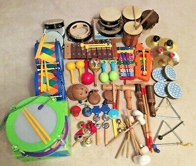 Large Selection Of Musical Instruments For Pre-school Music Group Or Nursery • 20£
