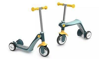 Smoby Reversible 2 In 1 Scooter Ride On Kids Children Outdoor Play Fun • 55.99£