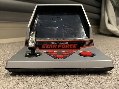 Boxed Grandstand Star Force Vintage 1984 Tabletop Electronic Game - Near Mint!. • 59£