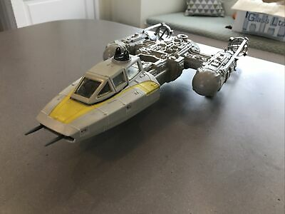 Star Wars Vintage Y Wing Bomber 1983 Working Electrics And Mechanism • 30£