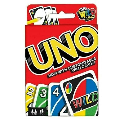 UNO CARD GAME With WILD CARDS Matte Latest Version Family Fun Indoor Party • 2.40£