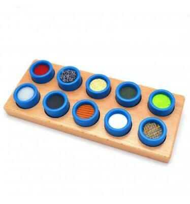 Viga Wooden Touch And Match Texture Board For Learning Sensory Children New Uk • 10.99£