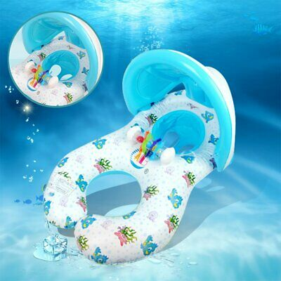 New Mother Toddler Swimming Pool Baby Floats Swim Seat Float Boat Ring Baby Swim • 7.99£