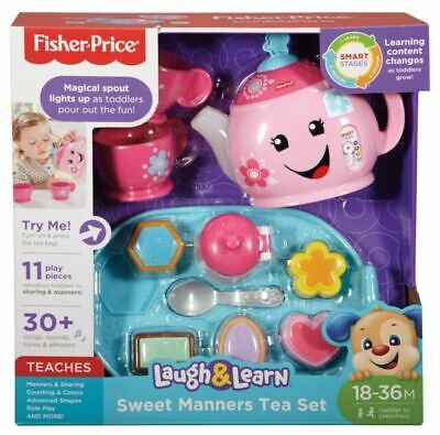 Fisher-Price DYM76 Laugh And Learn Sweet Manners Tea Playset • 14.99£