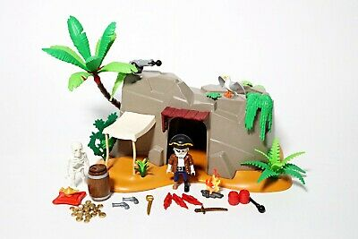 Playmobil Pirate Cave (4797) Island Ship Figure Accessories Skeleton Playset  • 19.99£