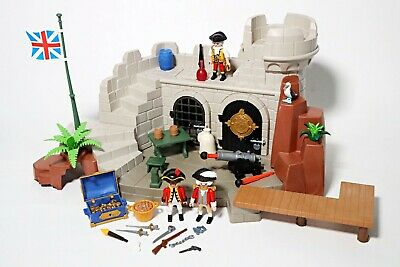 Playmobil Soldiers Fort With Dungeon (5139) Pirate Battle Island Accessories  • 29.99£