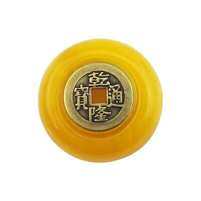 High Grade Brass Copper Coin Handle Rotating Decompression Manual Fingertip Top • 4.31£