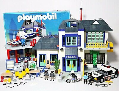 Playmobil Police Station Bundle City House (3988) 2 Extension Sets Car (5915)  • 79.99£