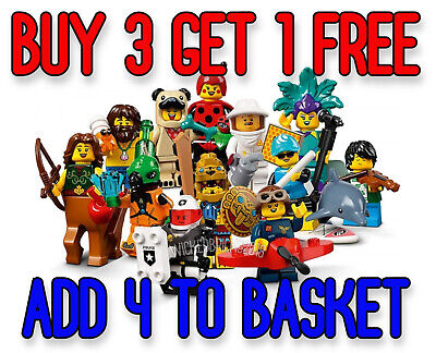 LEGO 71029 SERIES 21 MINIFIGURES (Pick Your Minifigure) Buy 3 Get 1 Free!! • 6.95£