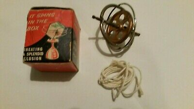 1960s Vintage Gyroscope The Mechanical Marvel Made In Britain Boxed • 6£