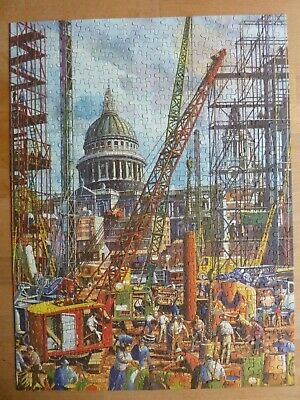 REBUILDING NEAR ST PAUL'S 550 Pieces Vintage Jigsaw Puzzle EMBASSY TOWER PRESS • 8£