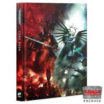 Warhammer 40k 9th EDITION CORE BOOK - Indomitus Rulebook - New & Sealed (d) • 17£