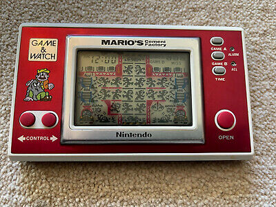 Nintendo Game And Watch Mario's Cement Factory 1983 ML-102 • 1.20£