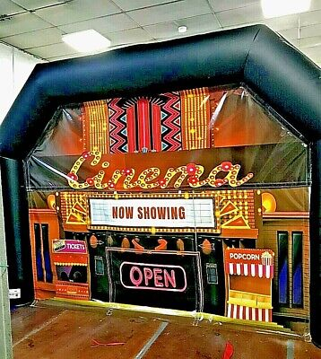 Marquee Tent INFLATABLE  2 IN 1 WITH CINEMA, NIGHTCLUB, BRAND NEW • 1,400£