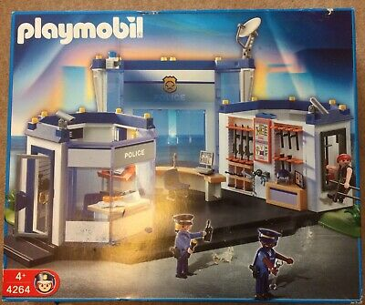 Playmobil Police Station 4264 From 4+ • 10£