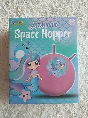 New Kids TOY MANIA Mermaid Space Hopper Fun Active Toy Age 3Y+ • 7.99£