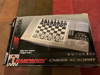 Saitek Kasparov Chess Academy - Talking Chess Computer - Mega Rare On EBay UK !! • 59.99£