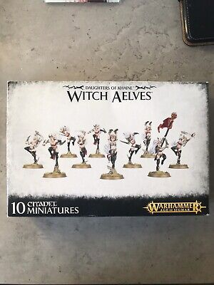 Age Of Sigmar Witch Aelves. Some Parts Missing, See Photos • 10£