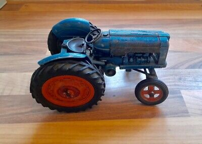 Chad Valley Fordson Major Tractor Rare. Circa Late 50s. Approx 17cm • 105£