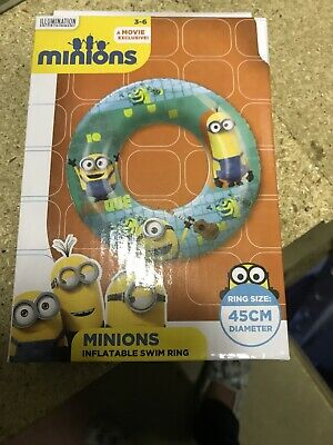 Minions Inflatable Swim Ring • 3.50£