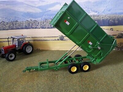 Vintage Britains Toys Diecast Marston Trailer 2 Axle Silage Farm Model 2136 • 16£