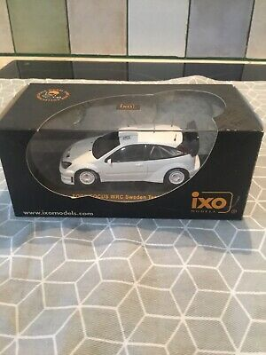 1/43 Ixo Ford Focus WRC Sweden Test Car 2005 • 45£