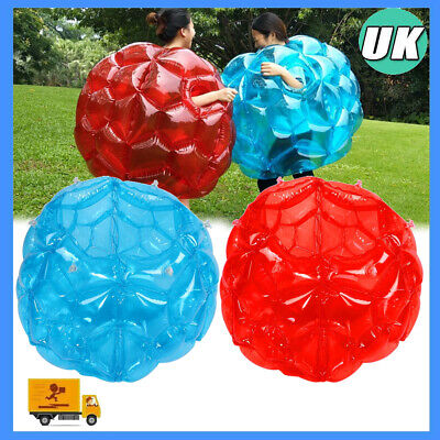2pcs Wearable Inflatable Bubble Bumper Funny Game Body Ball Outdoor Indoor 60*60 • 22.84£