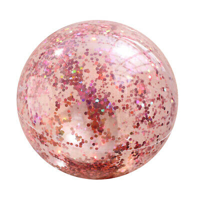 PVC Fun Pool Toys Outdoor Sports Glitter Confetti Inflatable Games Beach Ball • 7.55£