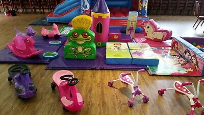 Princess Commercial Soft Play Set 18 Piece - Ideal Bouncy Castle Add On • 415£