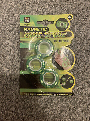 Magnetic Glow In The Dark Fidget Toy • 2.50£