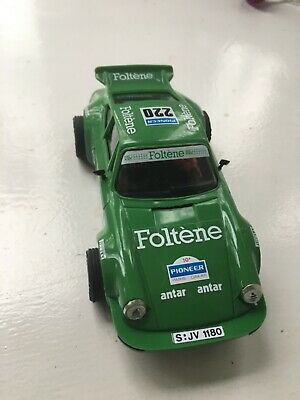 Scalextric / Spain Porsche 911 Carrera Rs Foltene Livery  Green Vgc Unboxed  • 14.99£
