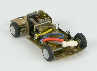 Triang Minic Motorway Metal Car Chassis Excellent Runner • 25£