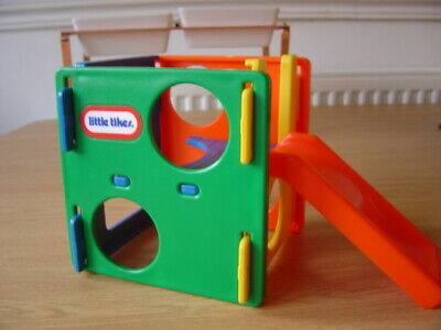 Vintage Little Tikes Dolls House Furniture Garden Climbing Frame Play Cube Toy • 20.50£