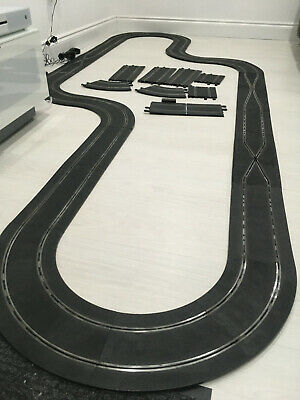 Large Scalextric Slot Car Racing Track Set Layout Classic Circuit • 9.99£