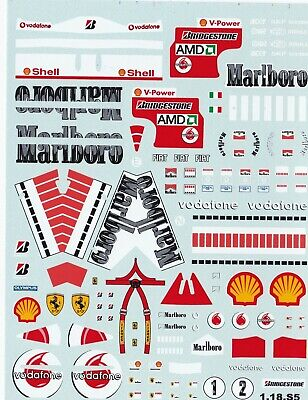 Carpena Decals For Cars 1/18 - Marlboro  (Ref 1.18.S5) • 6£