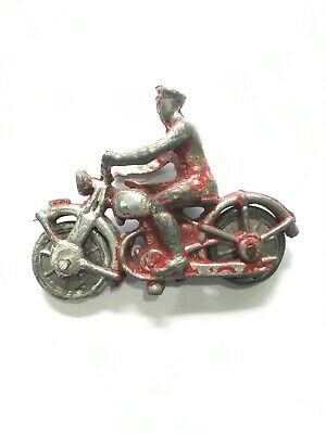 Vintage Dispatch Motor Cycle Rider Lead Cast • 4.25£