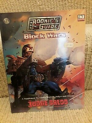 Mongoose Publishing, Judge Dredd RPG, The Rookie's Guide To Bock Wars   • 8.99£