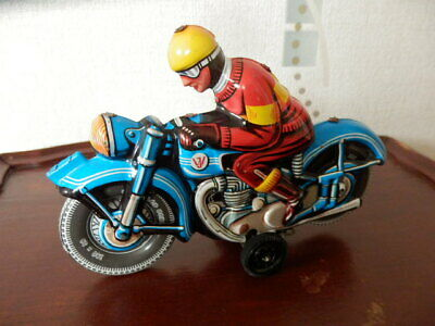 Vintage JOSEPH WAGNER Motorcyclist. Germany. Excellent. • 45£