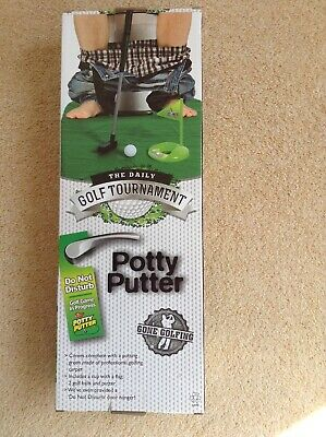 The Daily Golf Tournament Toilet Potty Putter Game • 3.50£