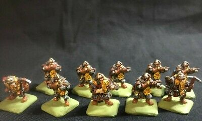 Dwarf Crossbow X 10, Metal. Ral Partha? Well Painted For Tabletop. See Pics • 15£