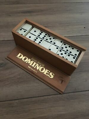 House Martin Club Dominoes With Metal Spinners Traditional Games • 9.50£