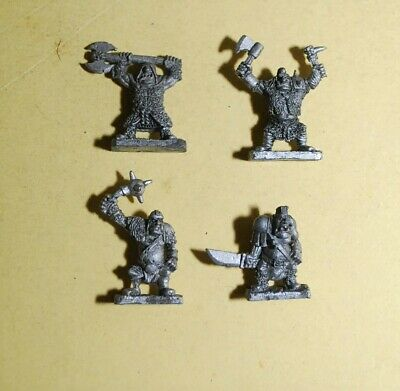 Warmaster- Orcs And Goblines - 4x Ogres #A • 8.95£