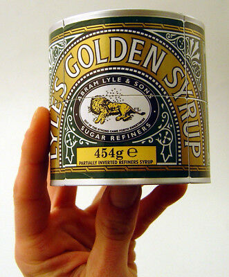 2x2x2 Puzzle Tate & Lyle Golden Syrup Tin - Rare, Limited Edition & Collectable  • 15£