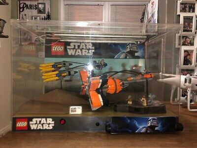 Star Wars Lego 7962 Anakin's And Sebulba's Podracers Ex Display Unit With Light • 10£